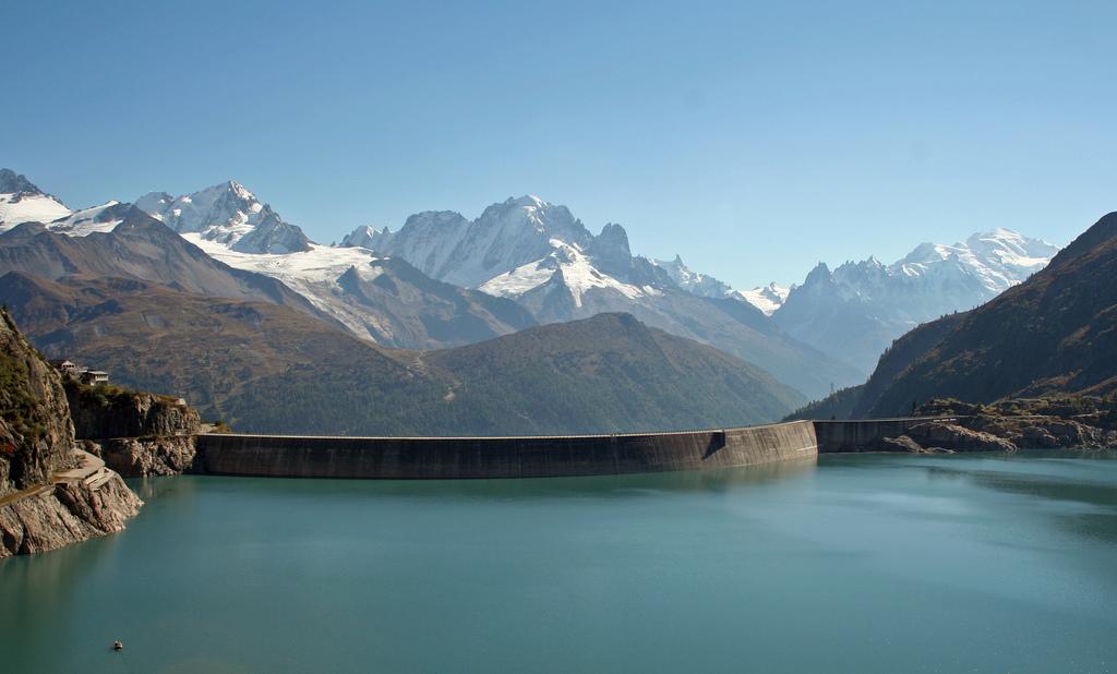 photo du barrage d'Emosson
