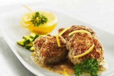 boulettes viande hachee ail sauce citron