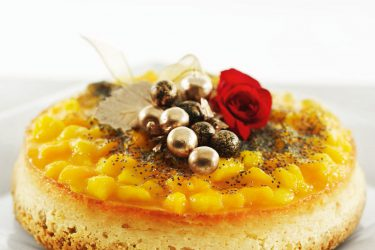 gateau fromage blanc mangue