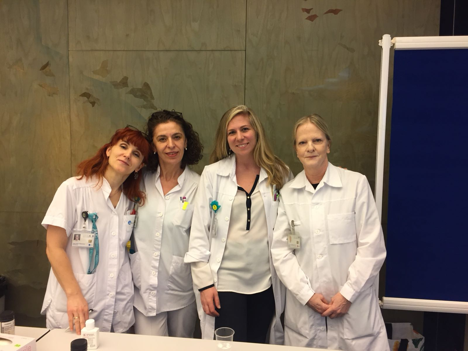 équipe médico-soignante de néphrologie