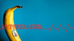 banane avec écrit hyperkaliémia