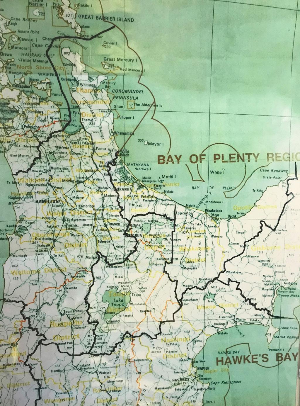 cartographie de la nouvelle zélande